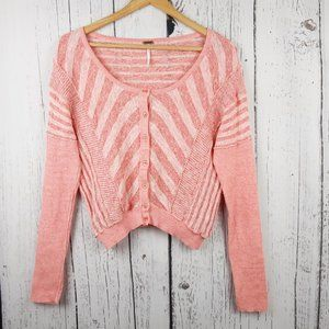 Free People Sweaters - Free People Crop Sweater Cardigan Size Medium